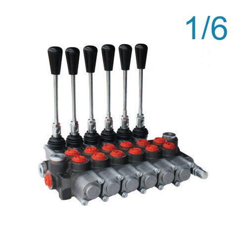 Monoblok razvodnik sa 6 komandi